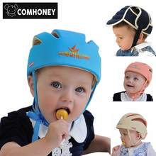 Baby Hat Cotton Safety Helmet For Babies Protective Helmet Infant Protection Hat For Baby Care Children Cap For Boys Girls Hat(China)