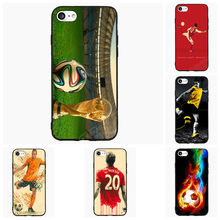 Soccer Football Cell Phone Case For iPhone 5 6 7 s Plus For Samsung Galaxy S J A Mi5 P8 9 Lite OnePlus Cover Shell Accessories