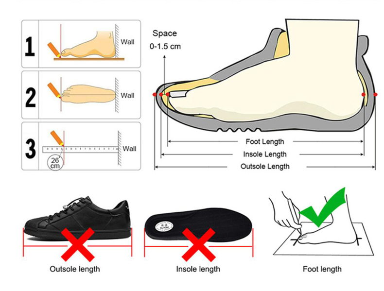 Foot Length Measure