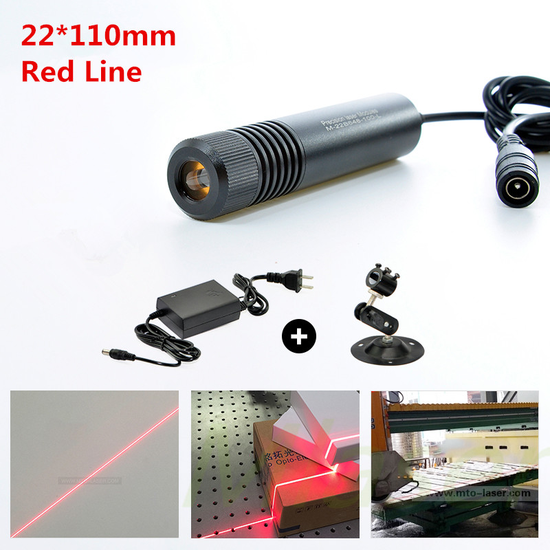650nm  10mw 50mw 100mw 150mw 200mw Laser Line Module for Clothes Cutting / Wood Cutting Mechanical Positioning<br>