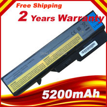 5200mAh 6Cell Laptop Battery for Lenovo IdeaPad G460 G470 G560 G570 B470  B570 V470 V300 V370 Z370 Z460 Z470 Z560 Z570