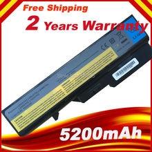 5200mAh 6Cell Laptop Battery Lenovo IdeaPad G460 G470 G560 G570 B470 B570 V470 V300 V370 Z370 Z460 Z470 Z560 Z570
