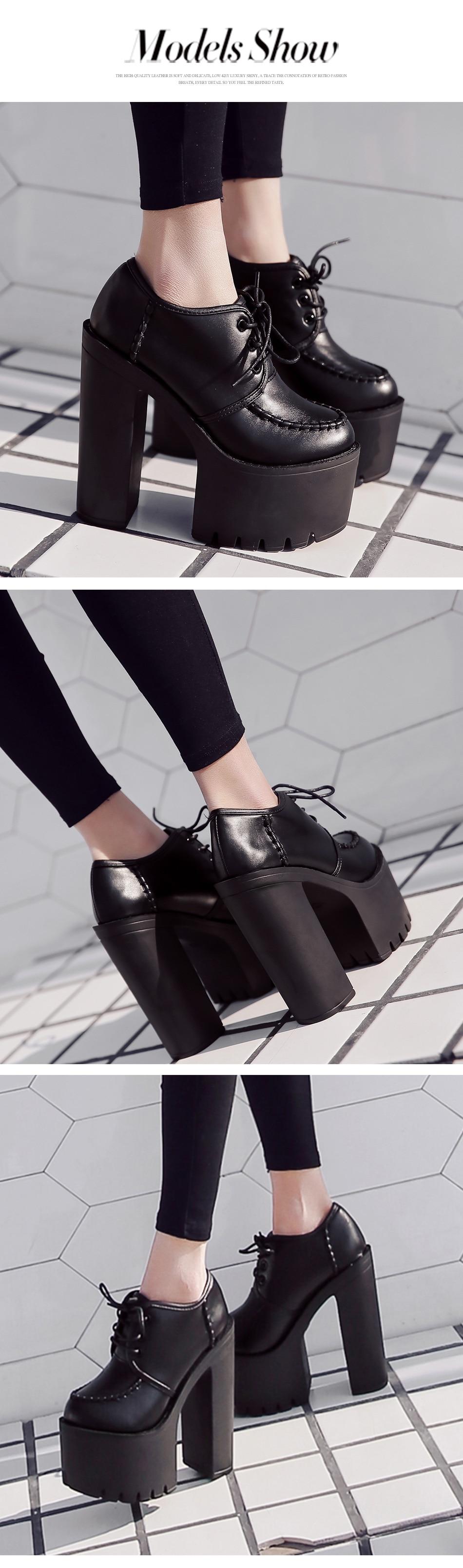 shoes woman high heel platform