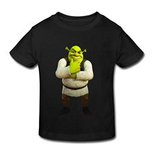 Design Your Own T Shirt Cool Funny Graphic Printed T Shirts Kids Toddler Shrek Little Boys Girls T Shirts