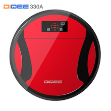 DIQEE 330A Robot Vacuum Cleaner for Home Sweeping Dust Sterilize timing Automatic Charge HEPA Filter 500ML Dust box(China)