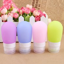 Silicone Refillable Bottles Portable small sample containers Mini Traveler perfume bottles for Shampoo Bath  top quality