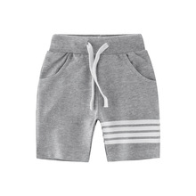 2017 Autumn Brand Boys Pants Striped Kids Bottom Casual Cotton Shorts Pants Baby Toddler Boys Shorts Pants Children's Shorts
