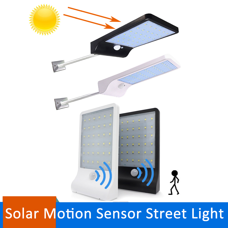 36LEDs PIR Motion Sensor Solar Street Light 3 modes 450LM Garden Security Lamp Outdoor Light Waterproof Energy Saving Wall Lamp