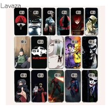 Lavaza 34af Cartoon bat man Sasuke Naruto Hard Transparent Case Cover for Samsung Galaxy S2 3 S4 S5 & Mini S6 S7 S8 Edge Plus(China)