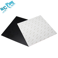 Protect Printing Platform Film 214*214mm Heated Bed 3D Printers Parts Reusable Sticker Heat Paper Part Black Heating Accessories(China)