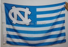 University of North Carolina at Chapel Hill UNC Tar Heels NCAA Flag hot sell goods 3X5FT 150X90CM Banner brass metal holes
