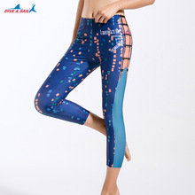 free shipping wild diving clothes pants beach sand surfing sunscreen pants quick dry sweat yoga fitness pants pants diving suit