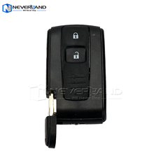 NEVERLAND 2 Buttons Smart Flip Remote Key Case Shell+Key Blank For Toyota Prius 2004-2009(China)