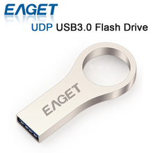 EAGET U66 USB 3.0 UDP USB Flash Drive 64GB 32GB 16GB Fashion Metal Waterproof Lord of the Rings USB Pendrive