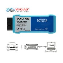 WIFI VXDIAG VCX NANO for TOYOTA TIS Techstream V10.10.018 Compatible with SAE J2534 VXDIAG for TOYOTA Techstream Scan Tool