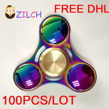 Free DHL Decompression EDC Hand Spinner Anti Reduce Stress Fidget Toy For ADD ADHD Anxiety Autism Boring Annoying Lonely Tension