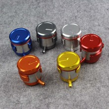Universal Billet Rear Brake Front Clutch Tank Motorcycle Fluid Reservoir Oil Cup For Almost Motorcycle Motor Bikes