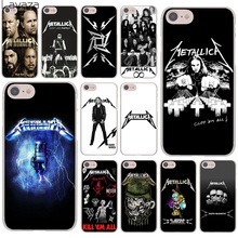 Lavaza Metallica James Hetfield Hard Cover Case for Apple iPhone 8 7 6 6S Plus 5 5S SE 5C 4 4S X 10 Coque Shell(China)
