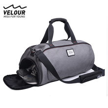 Waterproof Shoulder Sport Gym Bag for Shoes Storage Women Fitness Yoga Training Bags Men's Gymnastic Handbag Crossbody X584YL(China)