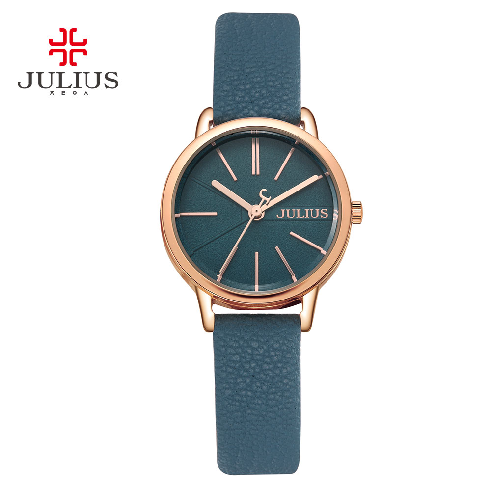 Genuine Leather Strap fashion watches lady women Wristwatches  JA944<br>