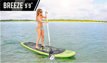 "Aqua Marina Breeze 9'9"" BT-18BRP inflatable surfboard inflatable surf board stand up paddle kayak inflatable fishing boat(China)"
