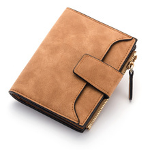 Baellerry brand new women's purse for credit cards fashion designer small wallets female original leather wallet card holder(China)