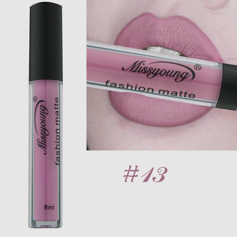 Neue Marke Make-Up Lippenstift Matte Lippenstift Braun
