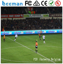 2015 Leeman world cup Basketball, football games Perimeter advertising led display P10,P16, P20 outdoor stadium led board
