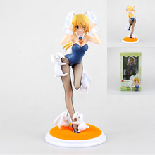 Anime Sex  figure Bunny Girl Infinite Stratos toys figures Charlotte DE Noah Do PVC Action Brinquedos Adult Model Sexy Toy