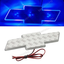 Blue Auto LED Car Decal Logo Light Emblem Sticker Lamp for CHEVROLET CRUZE(CA018/44/49)