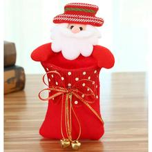 Christmas Paper Candy Bag Snack Christmas Tree Gift Box Packet Children Household Garden Home Decor ornamentos natalinos(China)