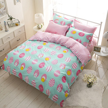 kids kawaii Bedding Set luxury Duvet Covers Set plus Size Bedclothes bedroom Bedsheet linen sheeet 1.5m 1.8m 2.0m bed clothing