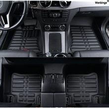 Custom car floor mats for KIA K2/3/4/5/7 Borrego KX3 Cerato Sportage Optima Maxima carnival rio ceed carens styling Sorento foot