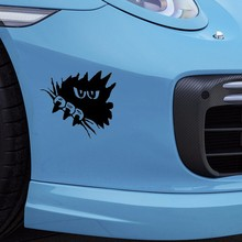 Horror Dark Eyes Gaze Sharp Claws Funny Car Sticker for Camper Van Door Motorcycle Laptop Kayak Waterproof Vinyl Decal