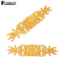 RUNBAZEF Decorative Materials Continental Ceiling Line Background Wall Decoration Furniture Fittings Carved Patterns Flowers(China)