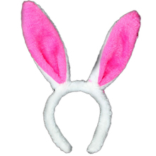 Hot 1pcs Halloween Easter Plush Fluffy Rabbit Ears Hair Bands Party Prop Bunny Headband Easter Party supplies