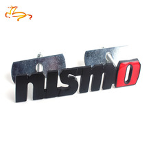 1X Brand 3D Metal Auto Car Nismo Badge Emblem Decal Nismo Sticker for Nissan Juke Tiida Teana GTR GTR 350Z 370Z 240SX ECT