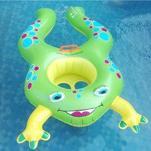 Mother and Child Double Swimming Rings Kids Adult Inflatable Swimming Circle Swimming Ring Baby Swim Seat Float Buoy(China)