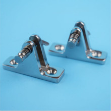 Lots Of 2 Deck Hinge Boat Bimini Top Fitting 90 Degree Pin Stainless steel Hot boat accessories marine