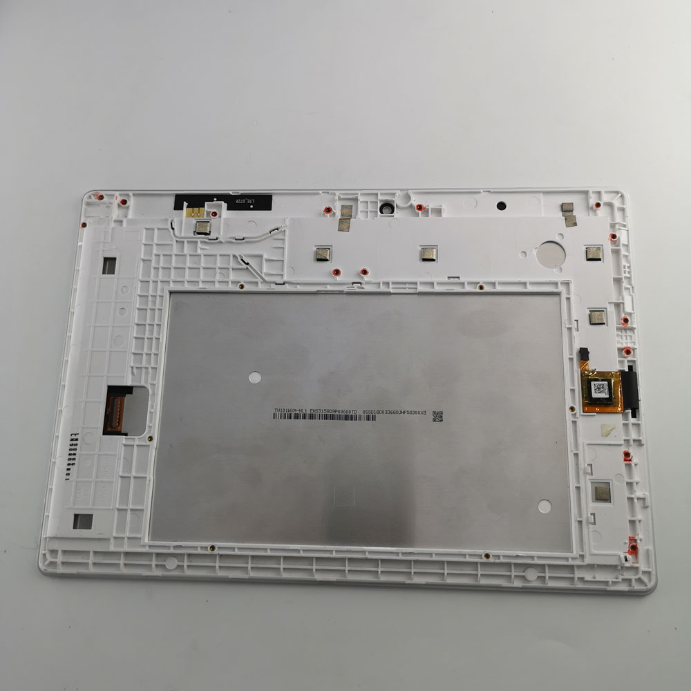 "10.1"" For Lenovo Tab 2 A10-30 YT3-X30 X30F TB2-X30F TB2-X30l A6500 LCD display touch screen digitizer Assembly with frame white"