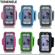 TENENELE Sport Arm Band Case For Huawei P8 Lite P9 Lite 2017 Fashion Cover Case WaterProof Swentproof  Running Gym Phone Bags