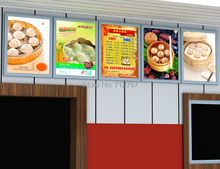 A3 LED Light Box / Illuminated Poster Display Snap Frame Ultra Slim 28mm Depth
