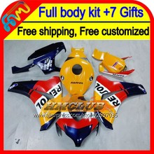 7gifts Repsol For HONDA CBR 1000RR 1000 RR 08 09 10 11 40HM114 CBR1000 RR 08-11 CBR1000RR Blue red 2008 2009 2010 2011 Fairing