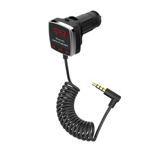 Wireless Bluetooth FM Transmitter MP3 Player USB LCD Remote Handsfree Car Kit Receiver Manufacturers MP3 Hands-free Phone Calls(China)