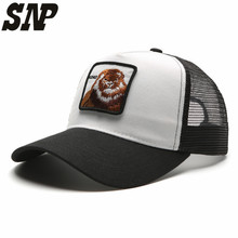 SNP snapback trucker mesh cap women baseball cap men women summer casquette gorras planas King snapback caps hats for women hat