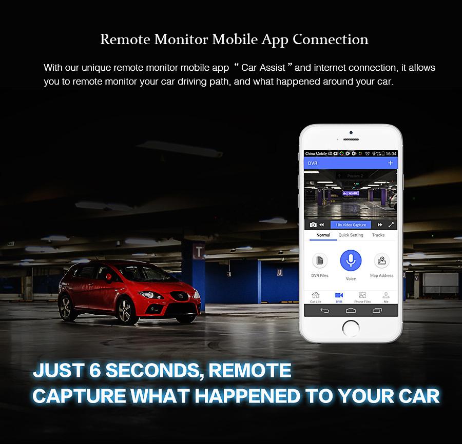 "Junsun 4G ADAS Car DVR Camera Digital Video recorder mirror 7.86"" Android 5.1 with two cameras dash cam Registrar black box 16GB 8"