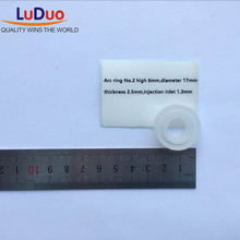 DIY Clear Silicone mold transparent Rubber Arc Ring NO2 Handcraft mould for epoxy UV doming resin adhesive gifts tools(China)