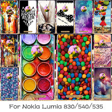 Silicone Plastic Cover Case For Microsoft Nokia Lumia 540 N540 535 N535 Phone Bag Shell 830 N830 Case For Nokia Lumia 830 Cover
