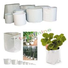 Round Fabric Grow Pots Plant Pouch Root Container Bag Aeration Container 9 SIZE(China)