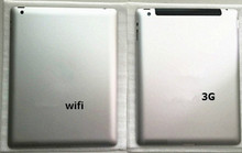 9.7''  Back Rear Battery Housing Door Cover Case  For Apple iPad 3 A1416 wifi  For Apple iPad 3 A1430 3G Version with logo